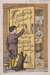 Advert For Hudson's Extract Of Soap(014EVA000000000U06135000)